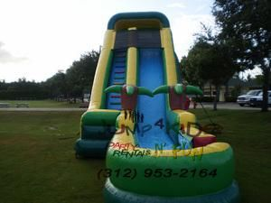 rent bounce houses from this establishment if you want pros to work during your party. Aside from bouncy house rentals, they also provide tables and chairs, mobile DJ services, and more.