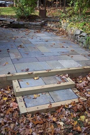 the best stone patio ideas landscaping flagstone patio and steps - Patio Stone Ideas With Pictures