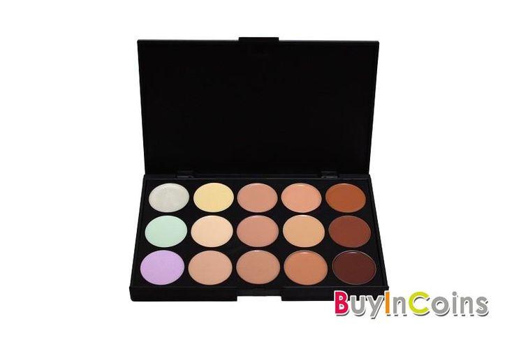 1PCS,2PCS New Professional 15Color Cosmetic Concealer Camouflage Makeup Palette -- BuyinCoins.com