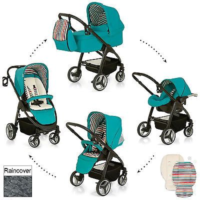 #Hauck #everglade lacrosse all in one #travel system stroller pram carrycot carse, View more on the LINK: http://www.zeppy.io/product/gb/2/311554493730/