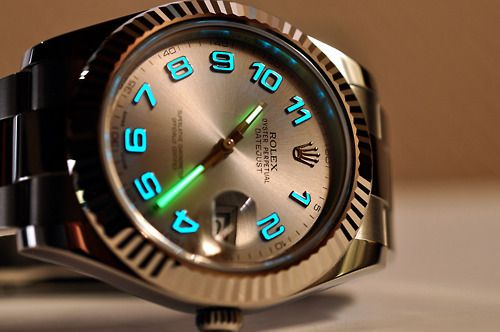 Rolex Luminova Oyster Perpetual Datejust