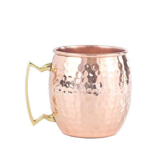 SET DISCOUNTS - 16 oz. Hammered Copper Mug - The Original