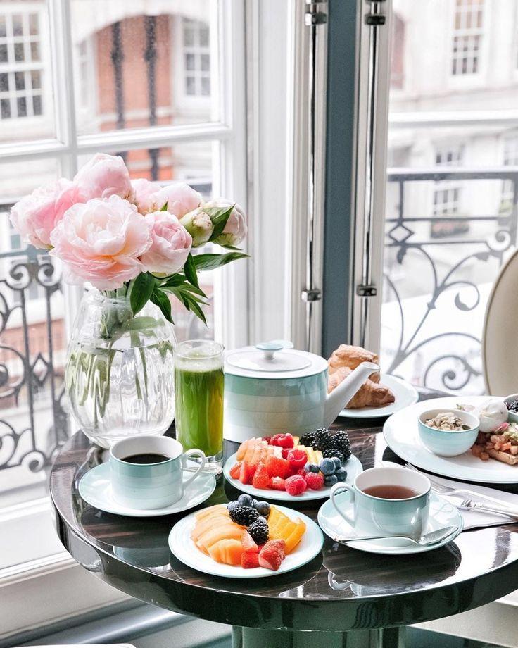 Смешная, открытки накрытый стол для утреннего чаепития и слова доброе утро