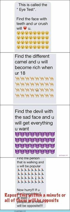 Top 4 #Hilarious Text Messages About Eye Test
