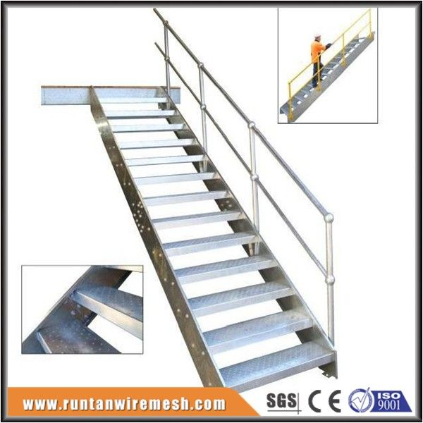 Best Trade Assurance Used Metal Stairs Galvanized Stair Treads 400 x 300