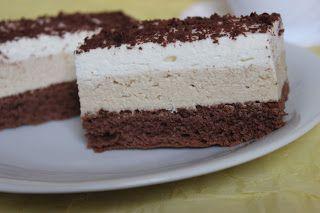 Ciasto kakaowo - kawowe z bitą śmietaną