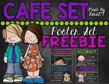 Ready for Back to School Decor? Enjoy this CAFE Poster set freebie to kickstart your classroom theme. If you like these eye catching colors, check out my other black and brights products found here: **EDITABLE** Classroom Decor {Black and Brights Chalkboard Theme} *Editable* ELA and Math Focus Wall Headers {Black and Brights Chalkboard Theme} How We Go Home Clip Chart {Black and Brights Chalkboard Theme} *Editable* Classroom Rules {Black & Brights Theme} Chalkboard Theme Number...