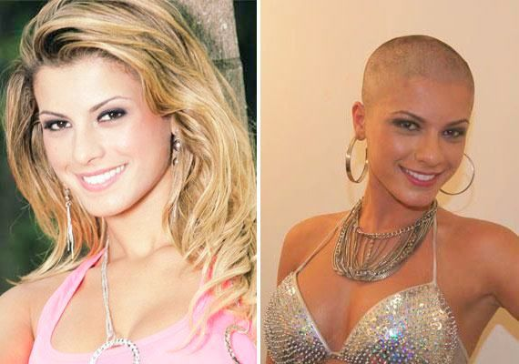 Shaved female heads before after you will