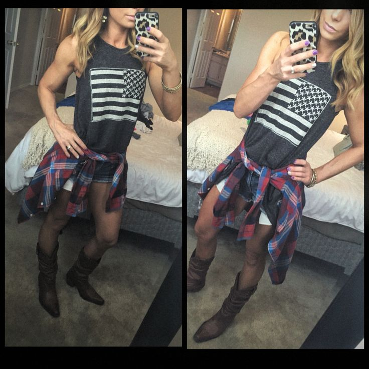 Country concert outfit - Instagram @eFitmama (casual country outfits)
