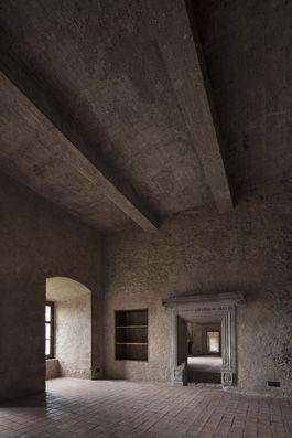 archiweb.cz - Obnova hradu Lipnice nad Sázavou Obnova a restaurování interiérů 1. patra Thurnovského paláce na hradě Lipnici