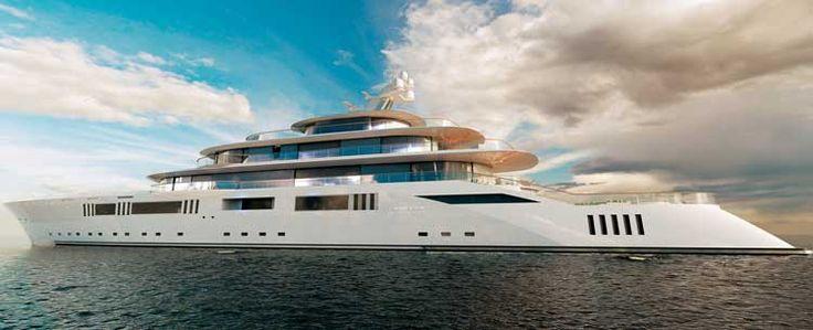 Pride Mega Yachts 108m #megayachts #357foot www.yachtsinterna…