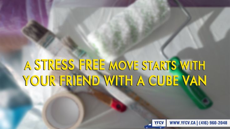 A #StressFree #move starts with Your Friend with a Cube Van! #Toronto #Movers #YFCV 416-960-2048 www.yfcv.ca #Moving #Packing 381 Dundas St E, Toronto, ON M5A 2A6