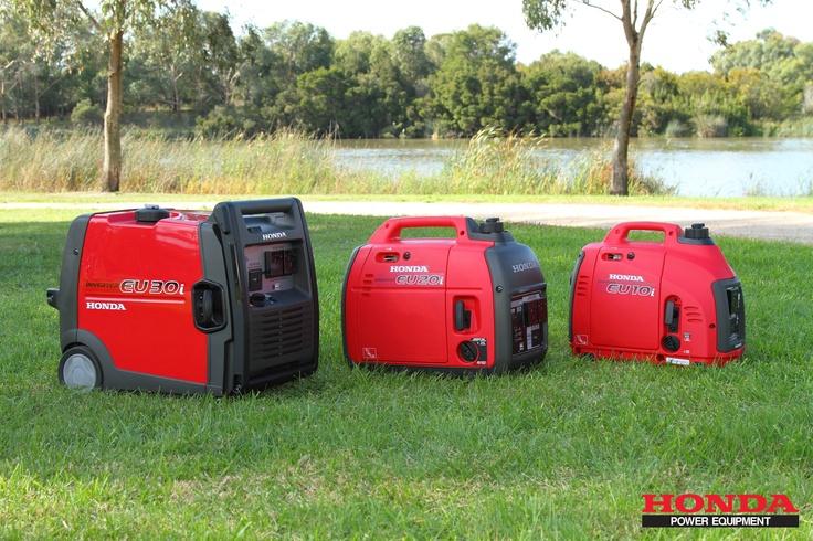 Hondas range on super quiet generators from 50cc through to 389cc. For more information visit http://powerequipment.honda.com.au/Super_Quiet