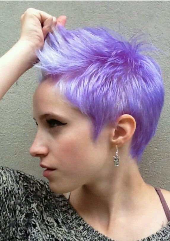 colorful pixie cut tumblr - Google Search
