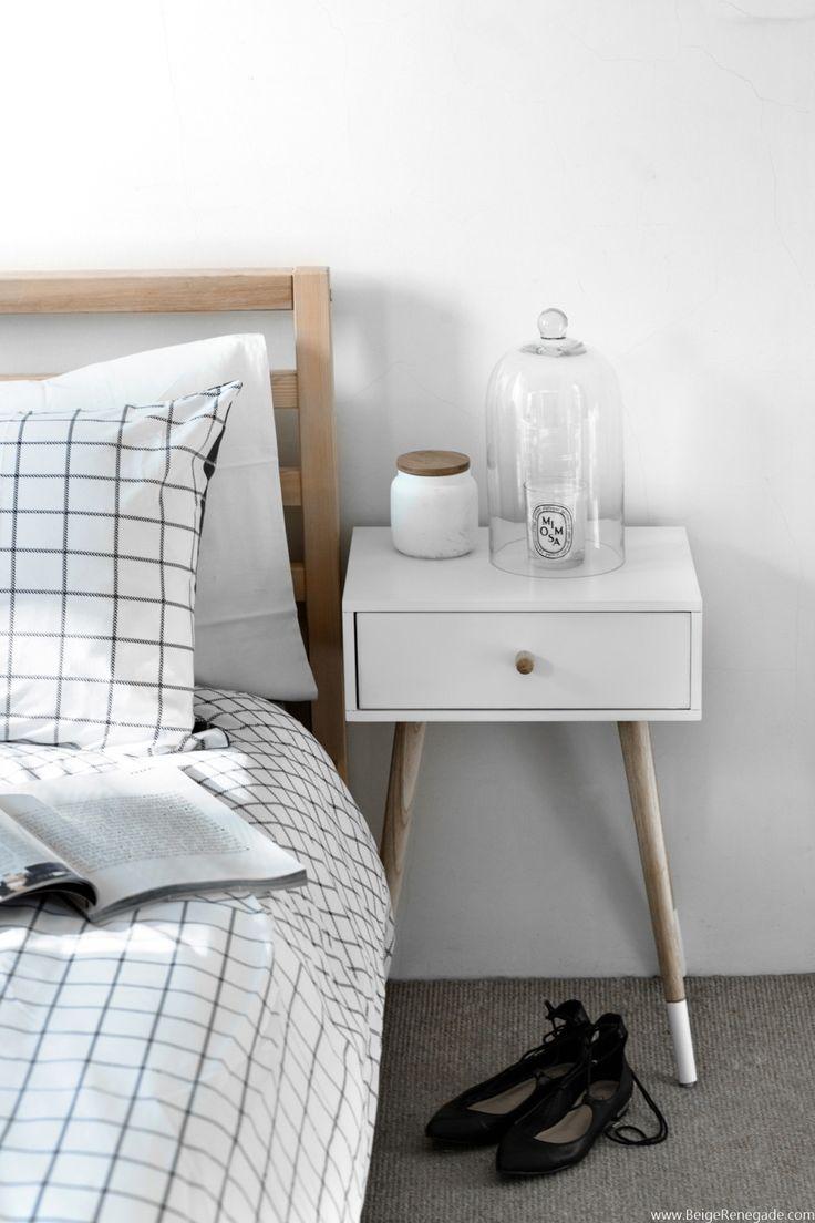 Bedroom via Beige Renegade   Urban Home   home decor   contemporary home   design   interior design   Schomp MINI