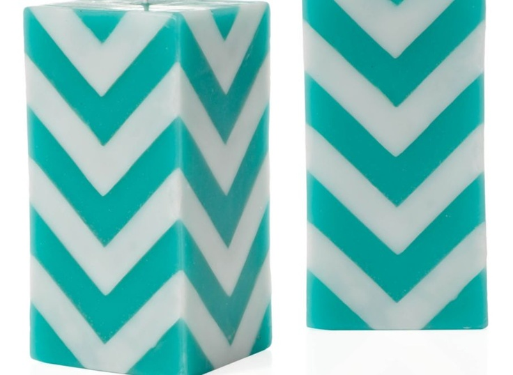 Z Gallerie Chevron Candles