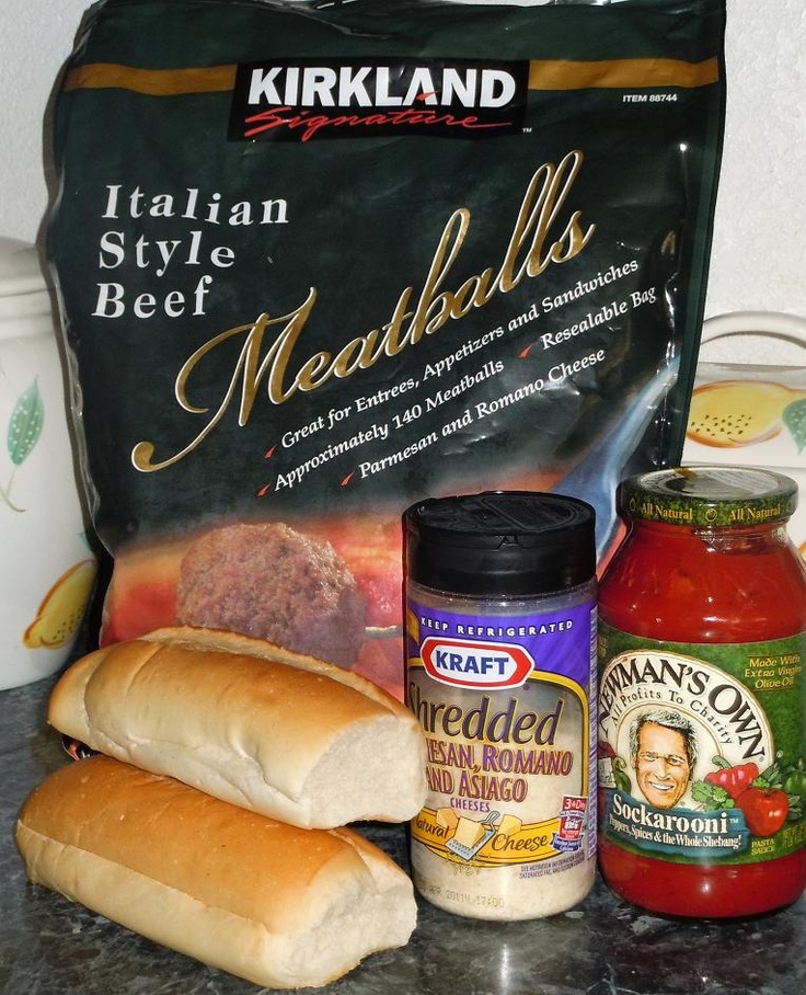 Do You Smell That!!?: Meatball Subs uses a crockpot and frozen meatballs.