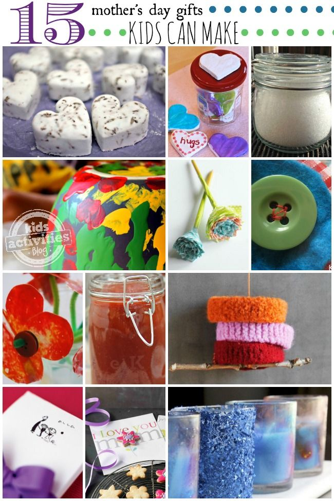 15 Mothers Day Gifts Kids Can Make Mother Day Gifts