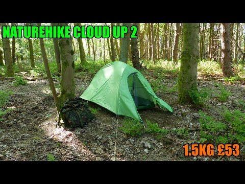 Naturehike cloud up 2 ultralight tent 1 5kg new wild camping tent