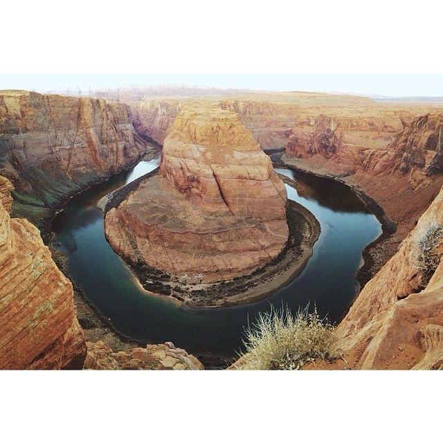 Horseshoe Bend (Page, AZ, United States) on Somewhere