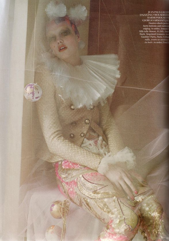 """Tim Walker, """"Russian Dolls,"""" inspired by the Victoria & Albert Museum's exhibition on Sergei Diaghilev's Ballets Russes. October 2011, British  ☮k☮ #TiMwAlKeR"""