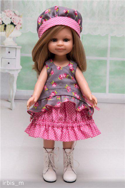"""Наряд """"Розовый Зефир"""" для куколки Паола Рейна. / Одежда для кукол / Шопик. Продать купить куклу / Бэйбики. Куклы фото. Одежда для кукол"""
