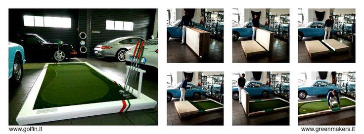 Golf In è il Putting Green monobuca di facile montaggio!!  #greenmakers #golf & #leisure
