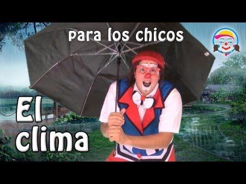 El Clima para niños, por los payasos Agapita, Potoco y Che-Ché