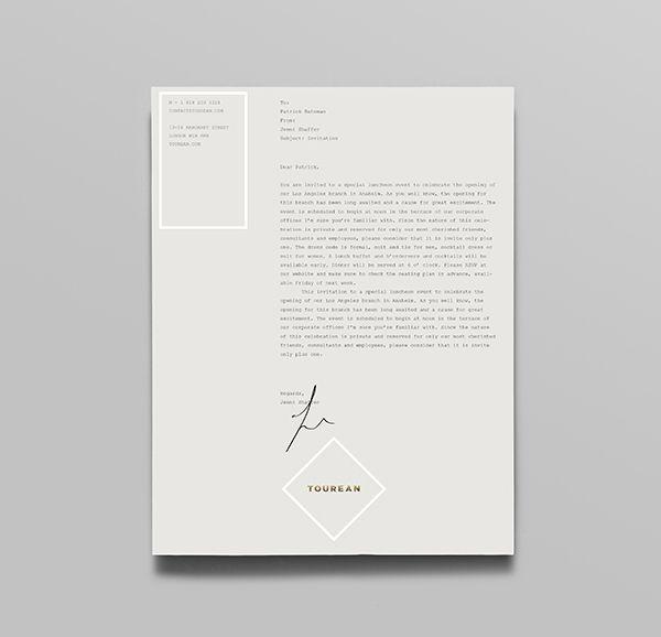 best 20 professional letterhead ideas on