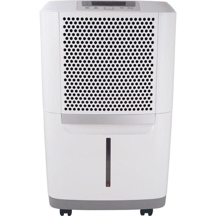 Frigidaire Energy Star 50-Pint Dehumidifier, Whites