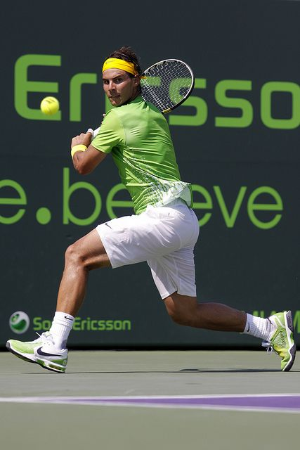 Rafael Nadal (ESP) | World Ranked #1 Rafael Nadal (ESP) in a… | Flickr