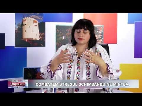"""""""Combatem stresul schimbându-ne mintea"""", Brașovul Actual, 12.12.2016 Niculina Gheorghiță - YouTube"""