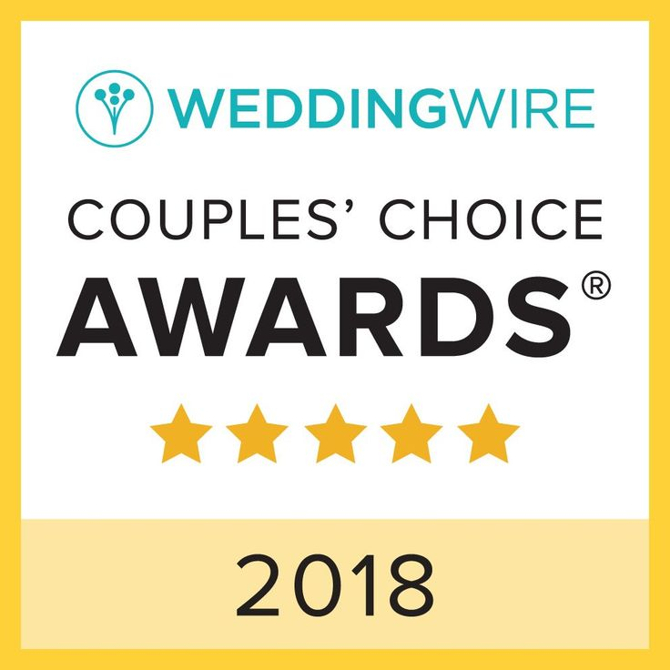 Proud to announce our award: This recognizes us in the top 5% of wedding professionals nationwide based on reviews and ratings from previous weddings.