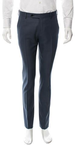 Dior Homme Patterned Wool Pants