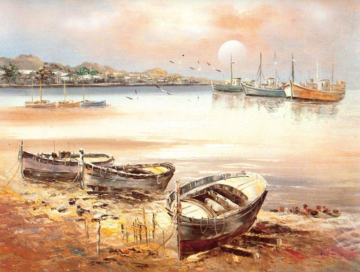 Fisherman's Wharf (Reprint on Paper - Unframed)