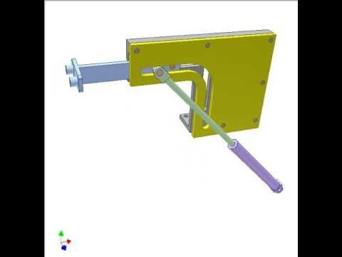 Pick and place mechanism 2 - YouTube
