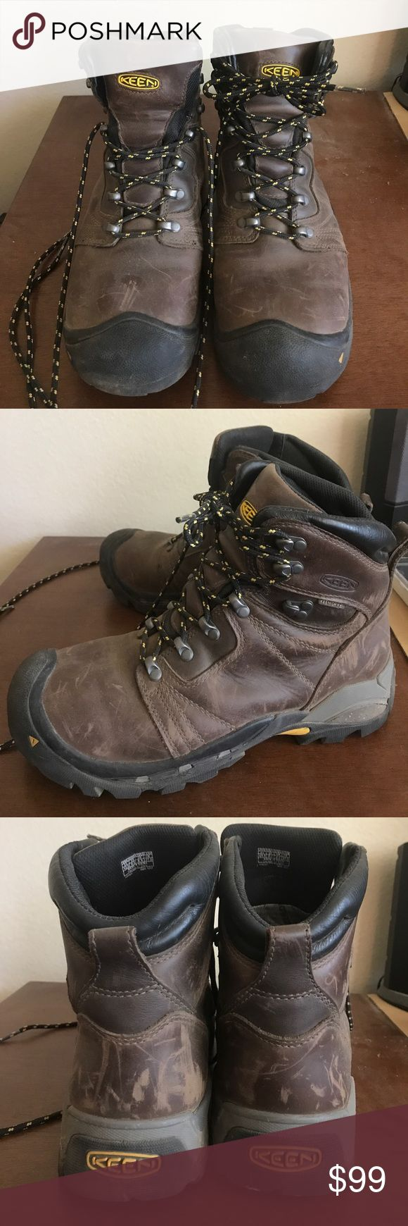Keen backpacking boots, hiking boots Genuine leather, fully waterproof backpacking boots from Keen. Excellent condition. Worn only 8 miles. Practically brand new. Keen Shoes Boots