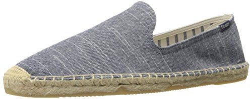 Inspired by sailing style, the stripes on the smoking slipper is perfect for the endless summer  http://shoes.bestselleroutlet.net/product-review-for-soludos-mens-striped-linen-smoking-slipper-sandal/