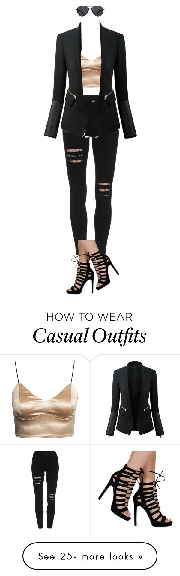 """Smart Casual"" by queen-cait on Polyvore featuring Mode, Chicsense, The Row, women's clothing, women's fashion, women, female, woman, misses und juniors"