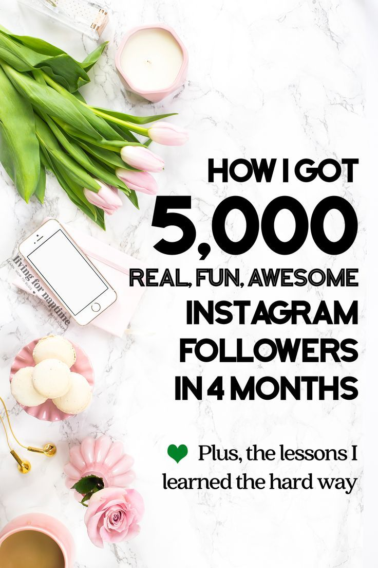 This blogger got 5k Instagram followers in 4 months using a combination of strategies, apps & FB groups. Find out her exact strategy at http://LivingForNaptime.com