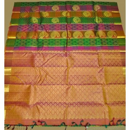 Kanchipuram Pure Silk Saree (KNC-VKM-008)