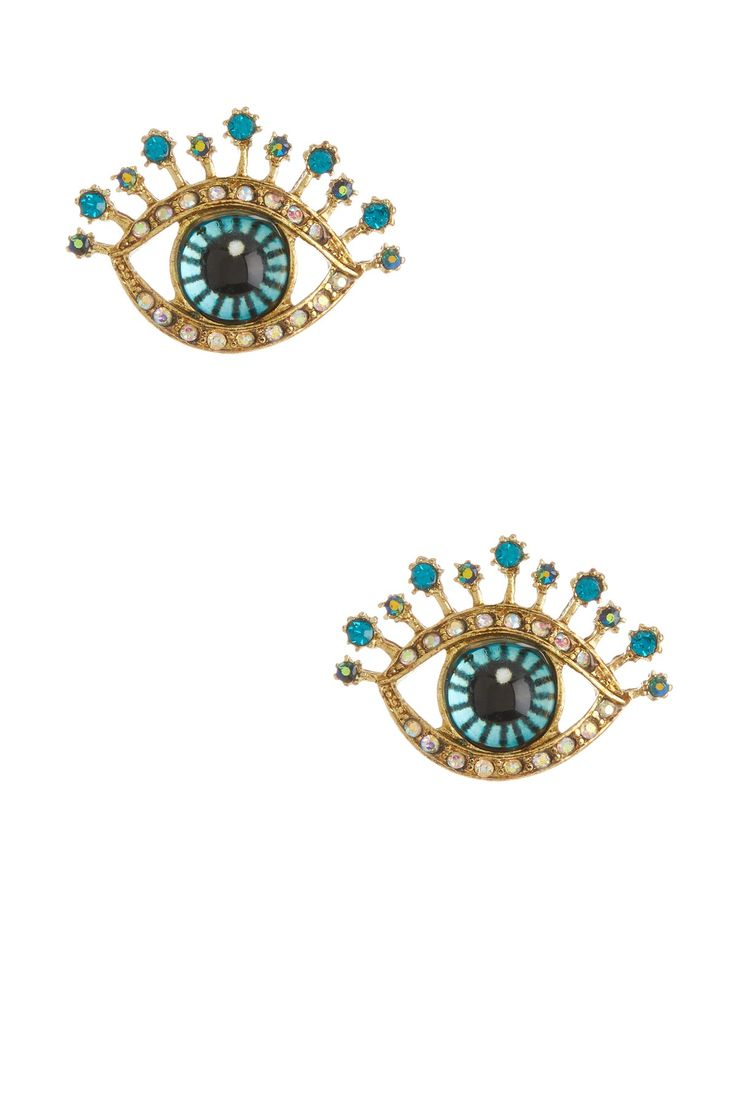 Betsey Johnson  Critter Statement Stud Earrings
