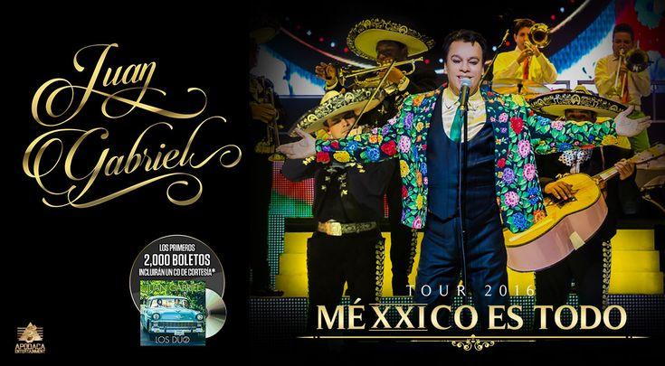 """Alberto Aguilera Valadez, de nombre artísticoJuan Gabriel nació enParácuaro,Michoacán, 7 de enero de 1950 y murió en Santa Mónica, California,Estados Unidos, 28 de agosto de 2016, es decir, el día de ayer. Fue uncantautor,actor,compositor, intérprete,músico,productor discográficoyfilántropomexicano. Fue conocido también con el apodo de """"el divo de Juárez"""". Son notables sus contribuciones a la música popular enAmérica Latinaen diferentes géneros…"""