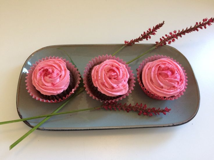 Video tutorial - Cupcakes med rose swirls