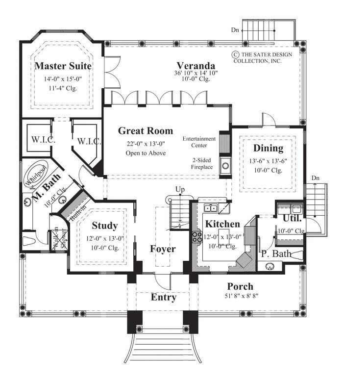 Biscayne Bay House Plan