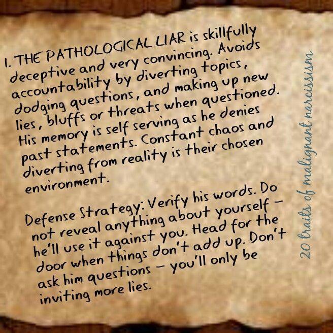 Dating pathological liar