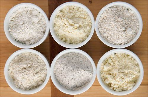 Le farine alternative sono davvero tante. Ecco 12 alternative alla farina di frumento e tutte le loro proprietà. Molte di queste sono anche prive di glutine