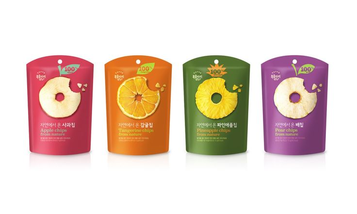 Bokumjari Fruits Snack on Packaging of the World - Creative Package Design Gallery