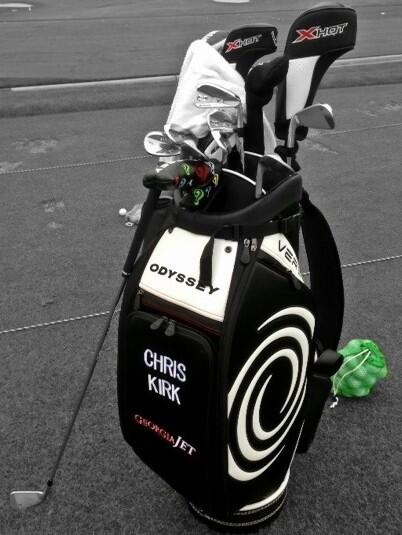 "April 30, 2013: ""FIRST LOOK: Check out the new #Versa staff bags you'll see on the @Patsy Adams TOUR starting this week,"" Odyssey Golf (@odysseygolf) reported from the Wells Fargo Championship."