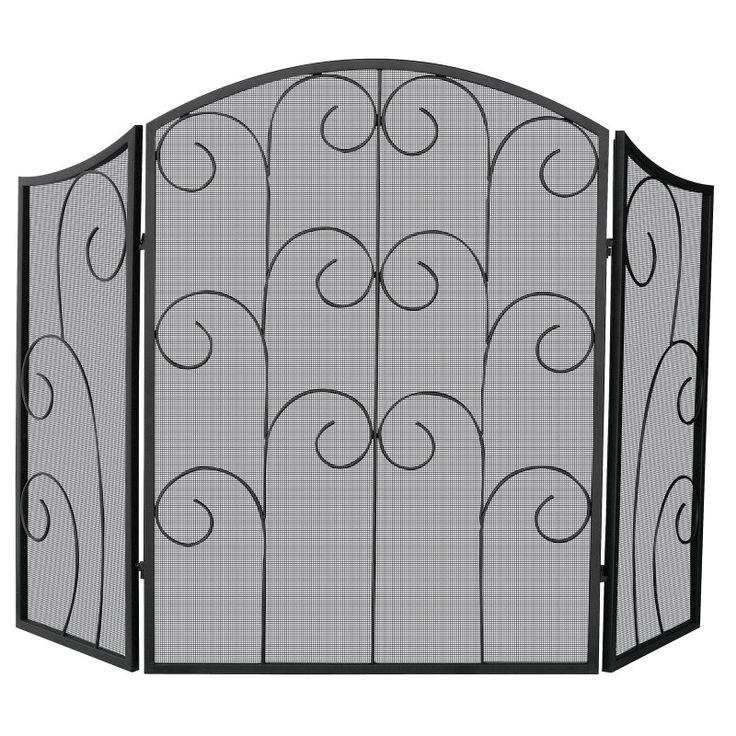 Top 25 best Wrought iron fireplace screen ideas on Pinterest